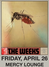 The Weeks : DEAR BO JACKSON record release show with Junior Astronomers