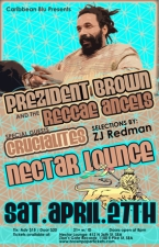 PREZIDENT BROWN n REGGAE ANGELS with THE CRUCIALITES / ZJ Redman