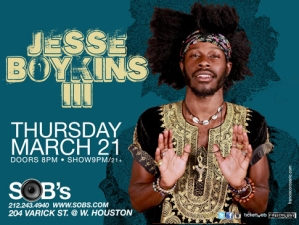 JESSE BOYKINS III with Rare Acoustic Performance by YahZarah