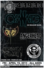 Cyanate featuring Downtime / Angerhead / Envirusment / Otis