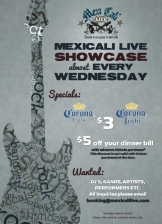 Mexi Showcase featuring Woodfish / Like Violet / Joe Ferreri