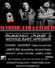 A Tribe Called Red , Daniel Harder , JSTJR , Mad Major Melvin
