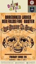 Last Summer On Earth - Barenaked Ladies, Ben Folds Five, Guster , and Boothby Graffoe
