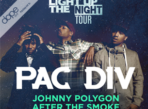 Pac Div with Johnny Polygon & After the Smoke