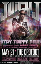 Juicy J with A$AP Ferg, Up In The Sky and Gueringer the 13th