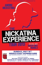 The Nickatina Experience Tour 2013 : Andre Nickatina, Roach Gigz, Mumbls