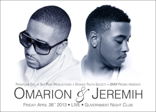 Omarion and Jeremih with special guest Dru