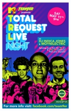 Total Request Live Night : Playing music from the TRL era & A Top 10 countdown from your requests! with DJ Indica Jones & Moynilectric / Happy Hour 7-9pm (no cover)
