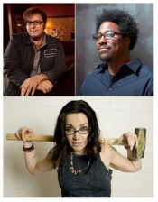 Tell Your Friends! The Spring Fling! with Janeane Garofalo / W. Kamau Bell / Allison Castillo With Host Liam McEneaney and Musical Guest A Brief View Of The Hudson