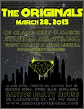 The Originals featuring DJ Clark Kent / D-Nice / Stretch Armstrong / Tony Touch / Rich Medina