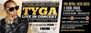 Tyga : Official Canada Tour