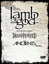 Lamb of God with special guests Decapitated / Anciients
