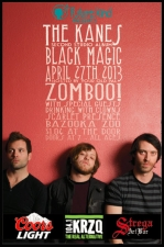 The Kanes CD Release Party featuring Drinking with Clowns / Scarlet Presence / Bazooka Zoo / Hosted by Zomboo