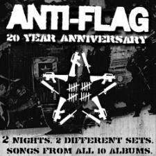 Anti-Flag : 20 Year Anniversary 2-Day Pass