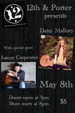 LOUNGE:, Daisy Mallory with special guest Lance Carpenter