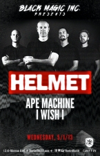Helmet : Ape Machine : I Wish I