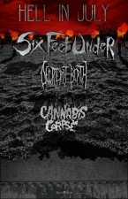 Six Feet Under featuring Decrepit Birth / Cannabis Corpse