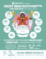 Yacht Rock Revue 's Yacht Rock Revival with special guests Bobby Kimball (of Toto ), Peter Beckett (of Player ), Robbie Dupree, Walter Egan, John Ford Coley PLUS Guilty Pleasures, Space Capone, Larry g(EE) and more