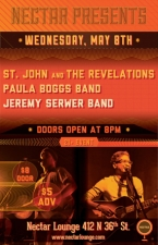 St. John & The Revelations featuring Paula Boggs Band / Jeremy Serwer Band