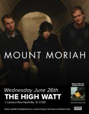 Mount Moriah with Jesse Sykes & Natalie Prass
