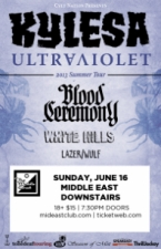 Kylesa with Blood Ceremony, White Hills and more.