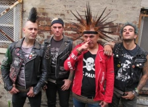 The Casualties with Iron Reagan