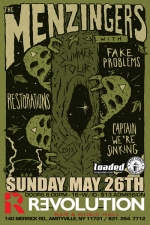 The Menzingers featuring Fake Problems / Captain We're Sinking / Restorations