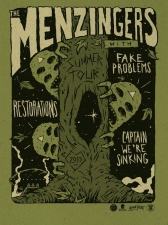The Menzingers / Fake Problems / Restorations / Captain, We're Sinking