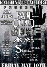 Pain Clinic featuring Envirusment / Archea / Sinicle / Scattered