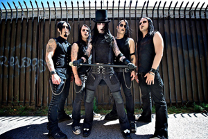 Wednesday 13 plus Vampires Everywhere / A Midnight Tragedy / Cracked Alice / Switchblade Serenade