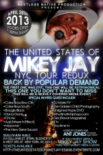 The United States of Mikey Jay NYC Concert