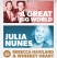 A Great Big World plus Julia Nunes / Rebecca Haviland And Whiskey Heart