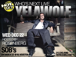 Yelawolf w/ Young Chris & More: Who's Next Live