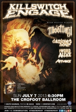 Killswitch Engage : Disarm the Descent Tour