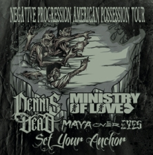 CANCELLED: Dennis Is Dead plus Ministry Of Love / Set Your Anchor