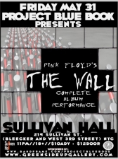 Project Blue Book Presents: Pink Floyd's The Wall with A Complete Album Performance also featuring PHWG, Newton Crosby