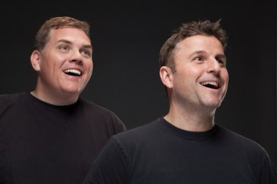 Steve Lemme & Kevin Heffernan from Broken Lizard, (STARS OF SUPER TROOPERS AND BEERFEST)
