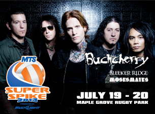 2013 MTS Super-Spike featuring featuring Buckcherry, with Bleeker Ridge, Moses Mayes & more!