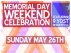 Memorial Day Weekend Celebration featuring A-Baum / DJ Elri / Grizzly Adams / Join Tha Party / Minaya & Vikus / Mikey Made / Mister Blaqk / PartyFavor / TEMPO