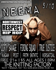 Northwest Respect featuring Neema / Dirty Savage / Kagah / Versatial / FRTM SNTHTC / Pest / True Justice / Firing Squad / On One