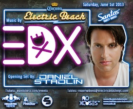 ELECTRIC BEACH featuring EDX