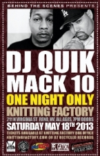 CANCELED - DJ Quik / Mack 10 - CANCELED