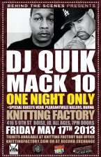 CANCELED - DJ Quik - CANCELED with Mack 10 and Verb / Pleasantville Killers / Burna