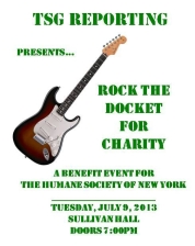 TSG's Rock the Docket for Charity featuring Desperate Measures, Andrew Mancilla, Larry Kolker, Fideaux