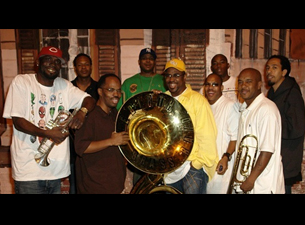 Rebirth Brass Band plus Progeny