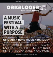 Oakaloosa Music Festival 2013 featuring Girl Talk and Bone Thugs-N-Harmony