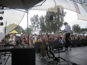 San Diego Oysterfest featuring Mayer Hawthorne / Poolside / Tyrone Wells / Blood Diamonds / Family Wagon / Social Club