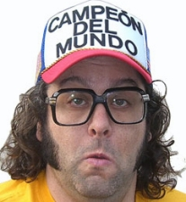 Judah Friedlander from NBC's 30 Rock featuring MadDog from Sirius Radio / Christian Finnegan from the Chappelle Show