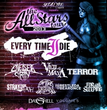 The All Stars Tour 2013 featuring Every Time I Die / Chelsea Grin / Veil of Maya / Terror