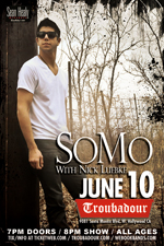 Somo With Special Guests Nick Luebke & Jake Broido